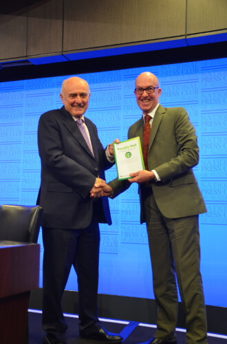 Prof Alan Fels and Dr Russell Roberts
